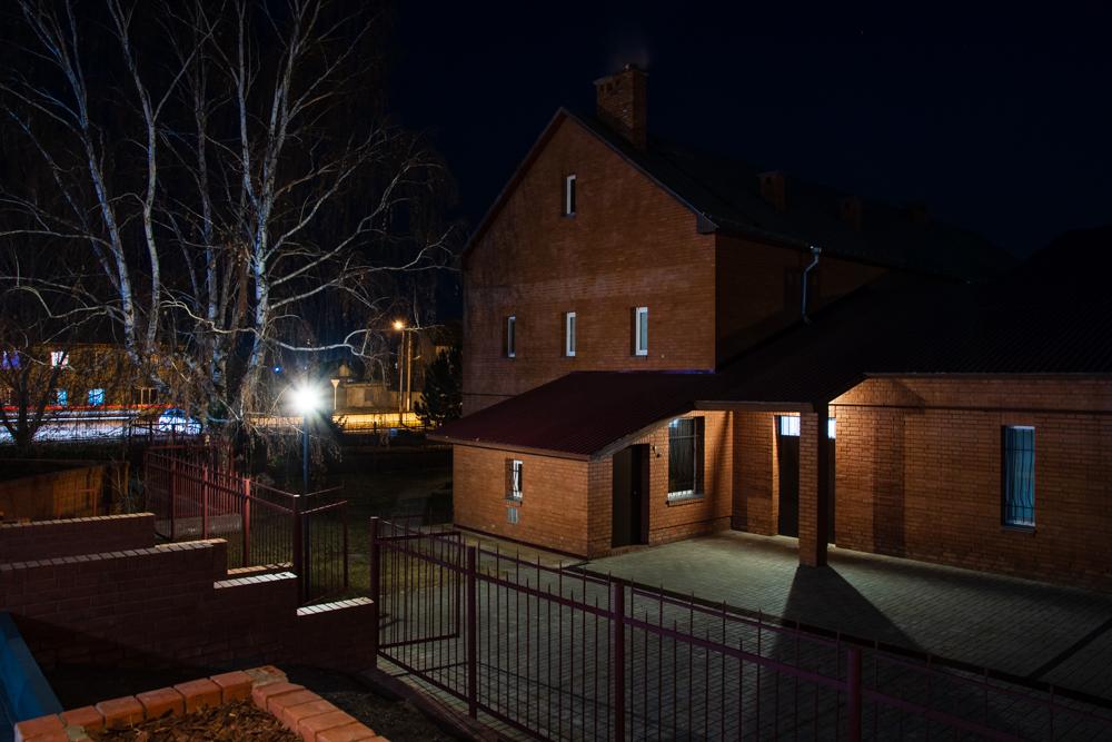 DSC 7697 - Урбантур-Маркс Блог о туризме в Марксе Ночная прогулка по территории Храма Христа Царя в Марксе (ноябрь 2018)