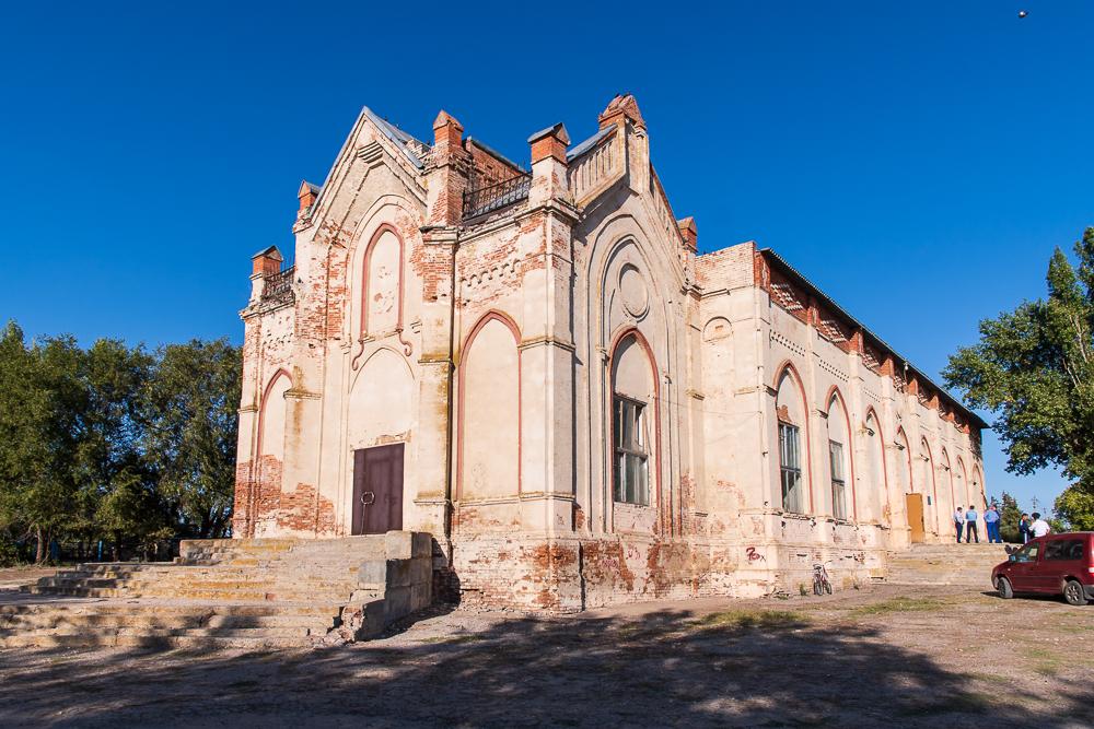 урбантур - турзм в мраксе - лютеранская церковь в раскатово