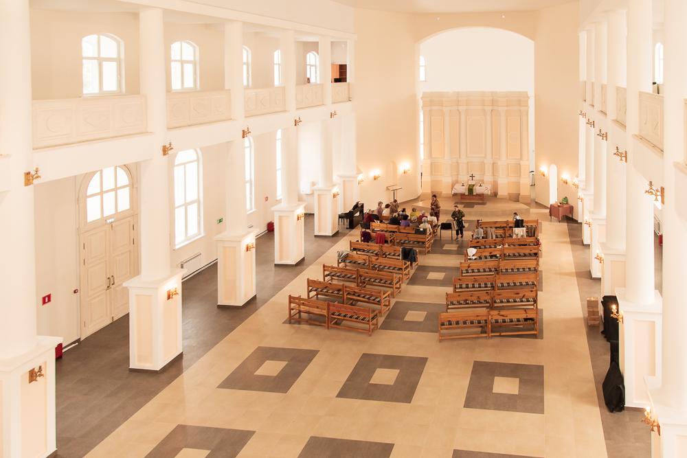 урбантур маркс - лютеранская церковь в марксе